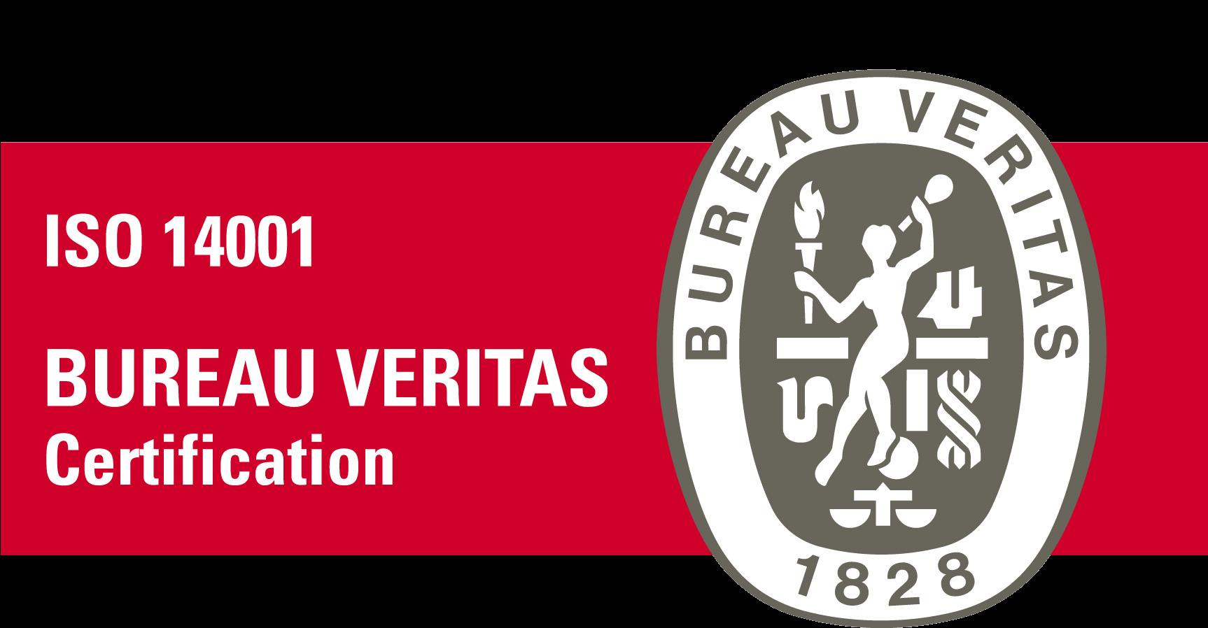 Certification ISO 14001, empresas del grupo