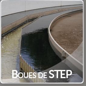 Boues de STEP
