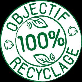 Objectif 100% recyclage