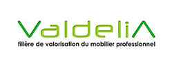 Valdelia, filière de valorisation du mobilier professionnel contact