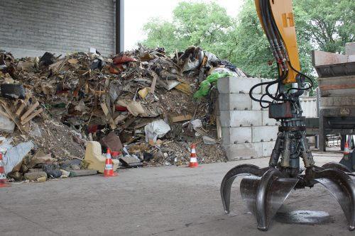 Déchets ménagers avant recyclage