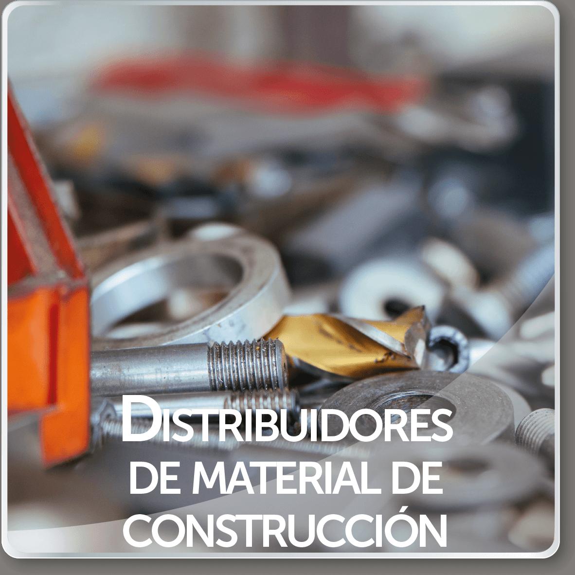 distribuidores de material de construccion
