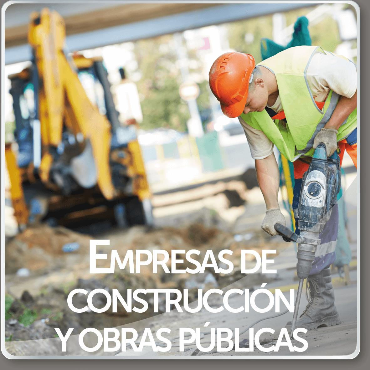 empresas de construcción y obras públicas