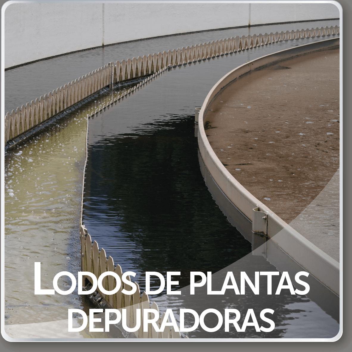 lodos de plantas depuradoras